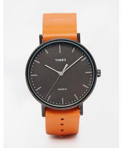 Timex | Часы Со Светло-Коричневым Ремешком Weekender Fairfield Tw2p91400 Рыжий