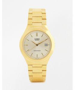 Casio | Золотистые Часы С Ремешком Из Нержавеющей Стали Mtp1170n-9a Золотой