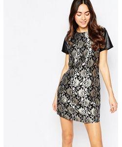 Sugarhill Boutique | Жаккардовое Платье
