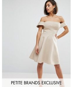 True Decadence Petite | Пышное Платье Миди Для Выпускного