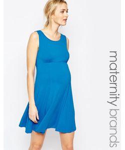 Isabella Oliver | Приталенное Платье Без Рукавов Синий