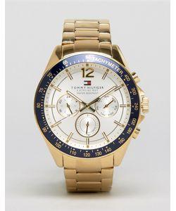 Tommy Hilfiger | Часы Из Нержавеющей Стали Luke 1791121 Золотой