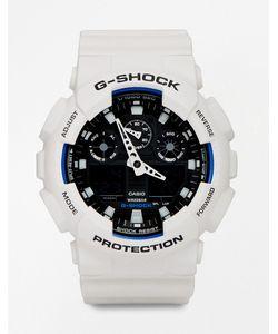 G Shock | Аналоговые Часы G-Shock Ga-100b-7aer Белый