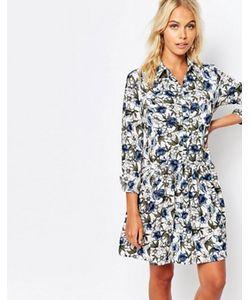 Fashion Union | Платье-Рубашка С Цветочным Принтом