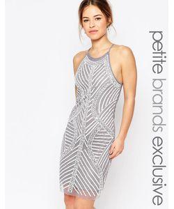 True Decadence Petite | Цельнокройное Платье На Бретельках С Декоративной Отделкой