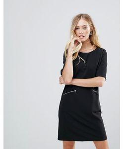 Qed London | Свободное Платье С Молниями