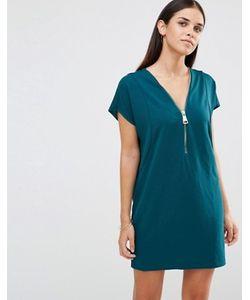 AX Paris | Oversize-Платье С Молнией Спереди