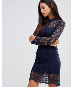 AX Paris   Кружевное Платье