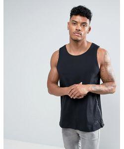 Nike | Черная Майка С Отделкой Tech 833931-010