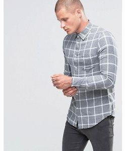 Diesel | Рубашка Слим В Клетку С 1 Карманом Stas