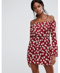 MISSGUIDED | Платье Мини С Цветочным Принтом