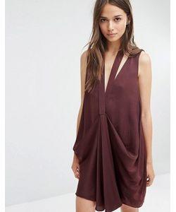 Style Stalker | Платье Миди Со Сборками Спереди Stylestalker
