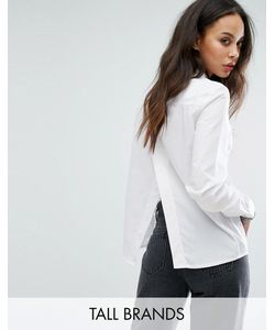 Noisy May Tall | Shirt With Split Back Detail