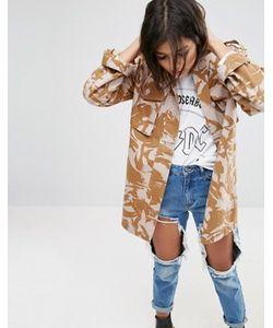 Asos | Куртка С Камуфляжным Принтом