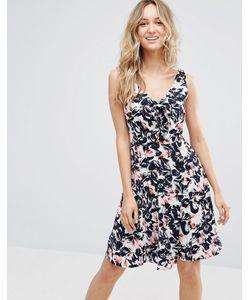 Sugarhill Boutique | Платье С Цветочным Принтом И Бантом