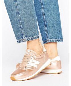 New Balance | Кроссовки Цвета Розового Золота 420
