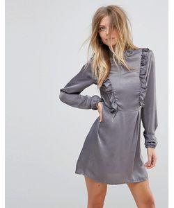 AX Paris | Платье С Длинными Рукавами И Оборками