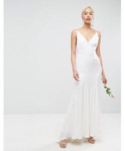 Asos | Платье Макси На Бретельках С Декоративными Швами Bridal