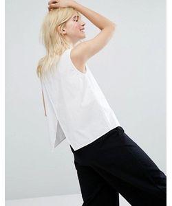 Monki | Рубашка Без Рукавов С Открытой Спиной
