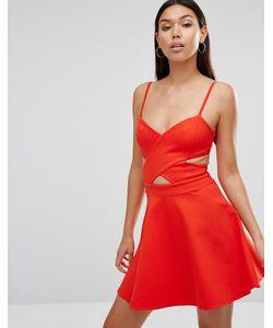 WYLDR | Приталенное Платье С Вырезами In Love