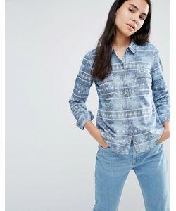 Vero Moda | Синяя Джинсовая Рубашка С Эффектом Кислотной Стирки Shila