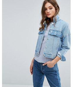 Vero Moda | Джинсовая Куртка С Рюшами