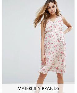 Mama Licious | Тканое Платье Без Рукавов С Цветочным Принтом