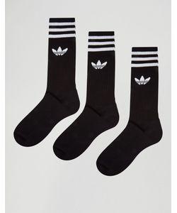 adidas Originals | Набор Из 3 Пар Черных Носков S21490 Черный