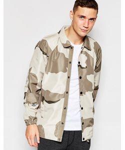 G-Star | Спортивная Куртка Со Сплошным Камуфляжным Принтом Хаки