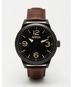 Breda | Часы Со Светло-Коричневым Кожаным Ремешком Stephen Рыжий