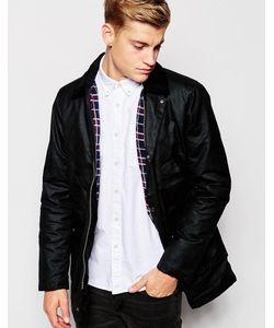 Brixtol | Вощеная Куртка С Вельветовым Воротником Черный