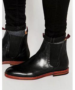Hudson London   Кожаные Ботинки Челси Tamper Черный