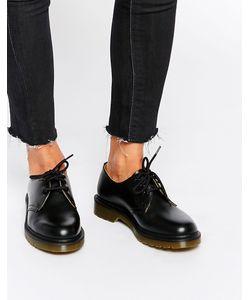 Dr. Martens | Черные Туфли На Плоской Подошве Dr Martens 1461 Черный
