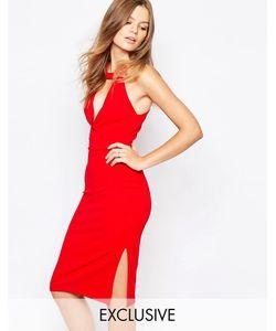 Twin Sister | Платье-Футляр Красный