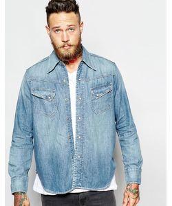 Levis Vintage | Джинсовая Рубашка В Стиле Вестерн 50-Х Levis Vintage Clothing