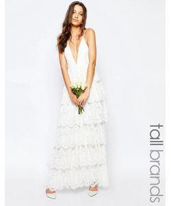 Fame and Partners Tall | Свадебное Ярусное Платье Макси