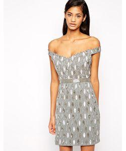 Virgos Lounge | Платье Мини С Декоративной Отделкой Caroline