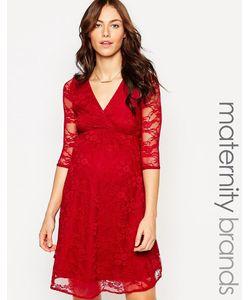 Kate Thomas | Кружевное Платье Для Беременных С Запахом