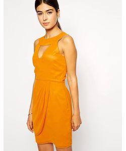 VLabel London | Платье С Высокой Горловиной И Вырезом Капелькой Kensal