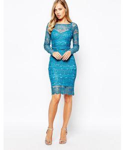 Body Frock | Платье Цвета Топаза Lisa