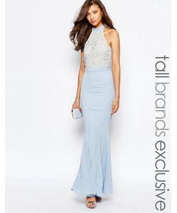 Jarlo Tall | Платье Макси С Кружевной Отделкой Caden