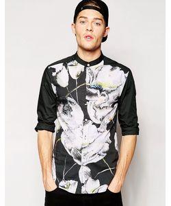 Standard Issue | Рубашка С Сублимационным Цветочным Принтом