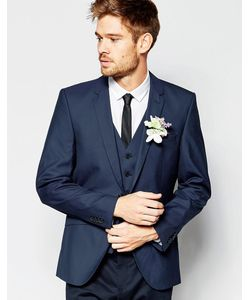 Selected Homme | Пиджак Слим Wedding Темно-Синий