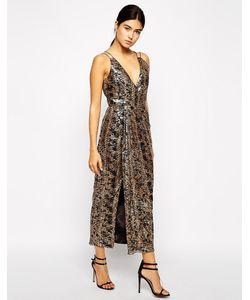 VLabel London | Платье-Сорочка С Разрезом До Бедра Berkley