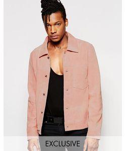 Black Dust | Замшевая Куртка Розовый