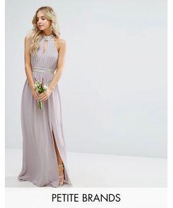 TFNC Petite | Свадебное Платье Макси С Отделкой