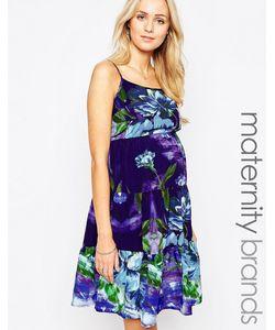 Kate Thomas | Ярусное Платье-Сорочка Для Беременных В Цыганском Стиле