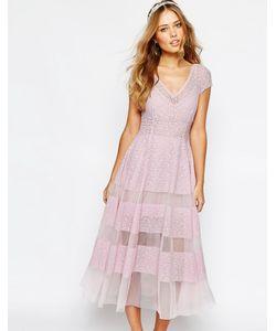 Body Frock | Платье-Тюльпан Wedding Сиреневый