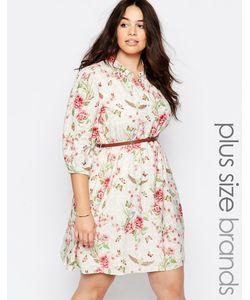 Yumi Plus | Платье С Ремешком И Цветочным Принтом
