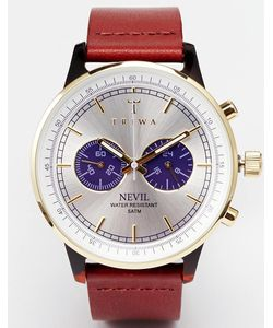 Triwa | Часы С Кожаным Ремешком Nevil Neac109